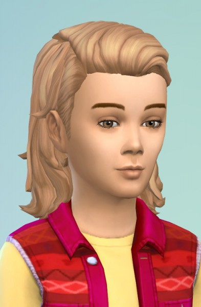 Birksches sims blog: Boys Combed Hair for Sims 4