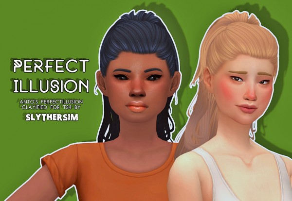 Slythersim: Anto's Perfect Illusion Clayified for Sims 4