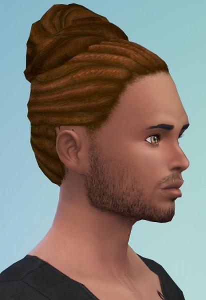 Birksches sims blog: Careless Dreads for Sims 4