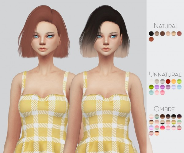 Kalewa a: Mega Hair Pack for Sims 4