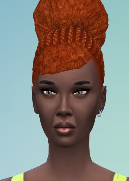 Birksches sims blog: Mahalia Hair for Sims 4
