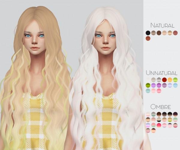 Sims 4 Hairs ~ Kalewa-a: Mega Hair Pack