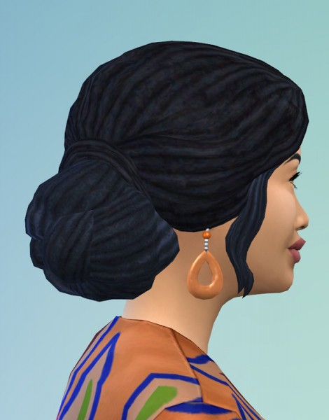 Birksches sims blog: Noisy & Sloping Dreads for Sims 4