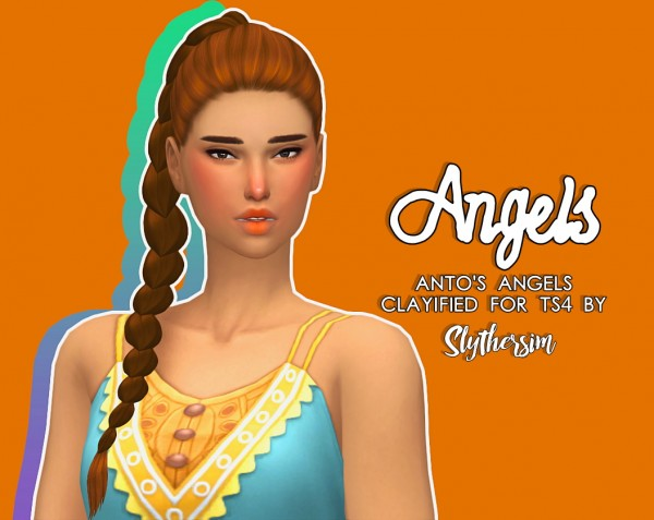 Slythersim: Anto's Angels Clayified for Sims 4