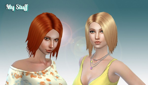 Mystufforigin: Laura hair for Sims 4