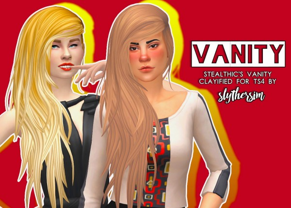 Slythersim: Stealthic's Heaventide & Vanity Clayified for Sims 4