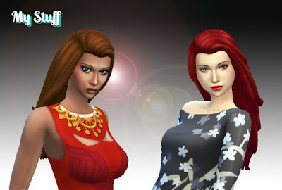 Mystufforigin: City Hairstyle for Sims 4