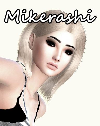 Mikerashi: Ade   Jennifer Hair Retextured for Sims 4