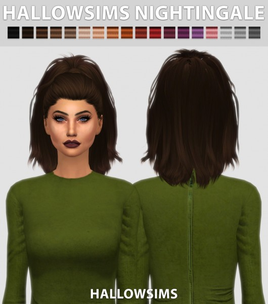 Hallow Sims: HallowSims Nightingale for Sims 4