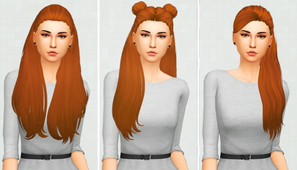 Kot Cat: Followers Gift   A lots of new clayified hairstyles for Sims 4