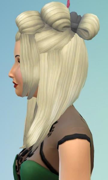 Birksches sims blog: Samurai hair for Sims 4