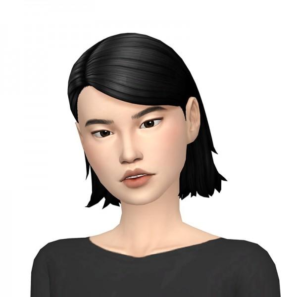 Deelitefulsimmer: Eliot hair recolored for Sims 4
