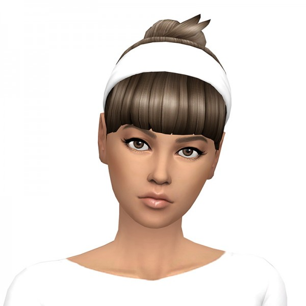 Deelitefulsimmer: Band baun gabs hair recolored for Sims 4