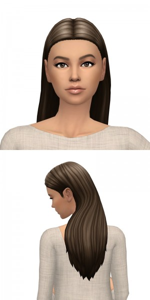 Deelitefulsimmer: Queen B hair recolor V2 for Sims 4