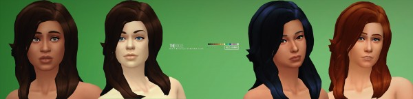 Simsworkshop: The Rogue hair by Xld Sims for Sims 4