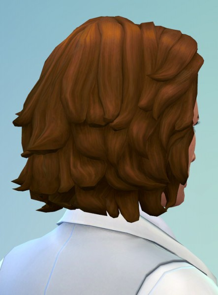 Birksches sims blog: City Gentlemen Hair for Sims 4