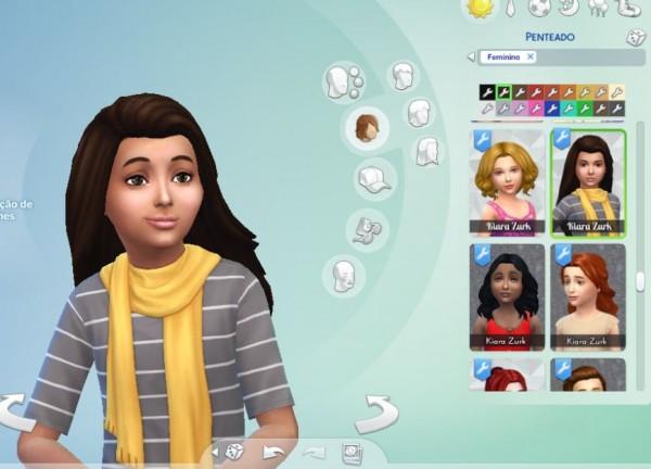 Mystufforigin: City hair for girls for Sims 4