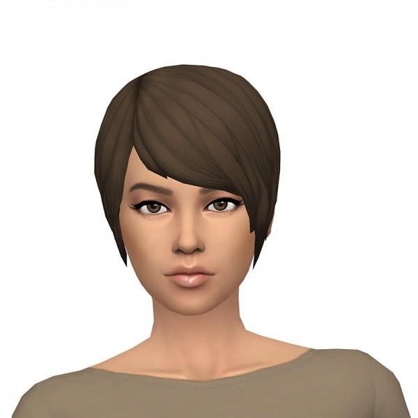 Deelitefulsimmer: Spectralcat hair recolor for Sims 4