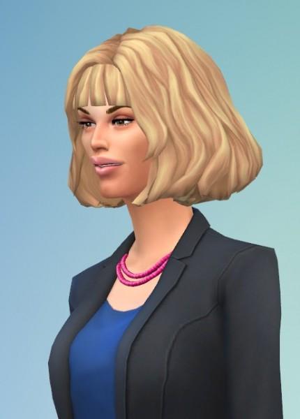 Birksches sims blog: Barbara hair for Sims 4