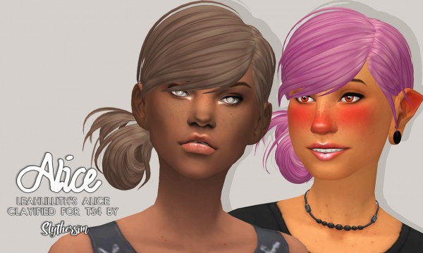 Slythersim: LeahLillith's Alice Clayified for Sims 4