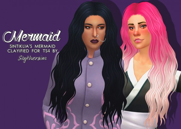 Slythersim: Sintiklia's Mermaid Clayified for Sims 4