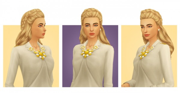 Simple Simmer: Constance hair for Sims 4