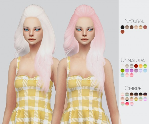 Kalewa a: Hallow`s hairs pack for Sims 4