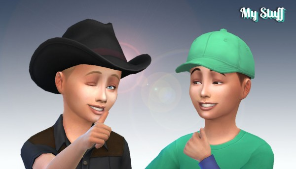 Mystufforigin: Under Cut Braid hair for Boys for Sims 4