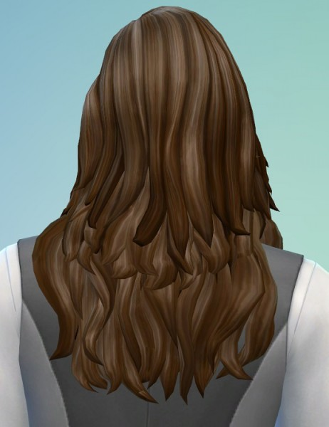 Birksches sims blog: Louis Hair for Sims 4