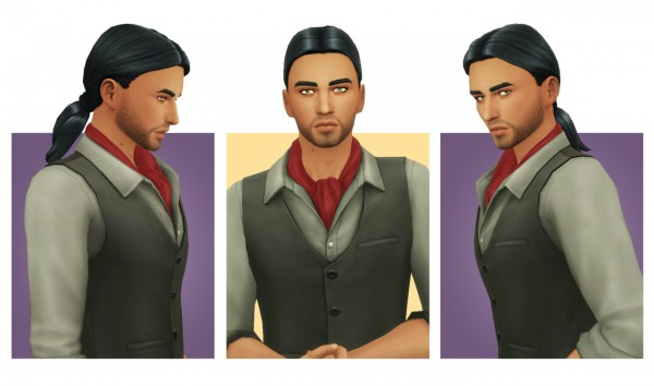Simple Simmer: Followers Gift 2   Part 3  4 hairs retextured for Sims 4