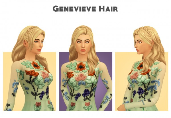 Simple Simmer: Followers Gift 2   Part 4   6 hairs rextured for Sims 4