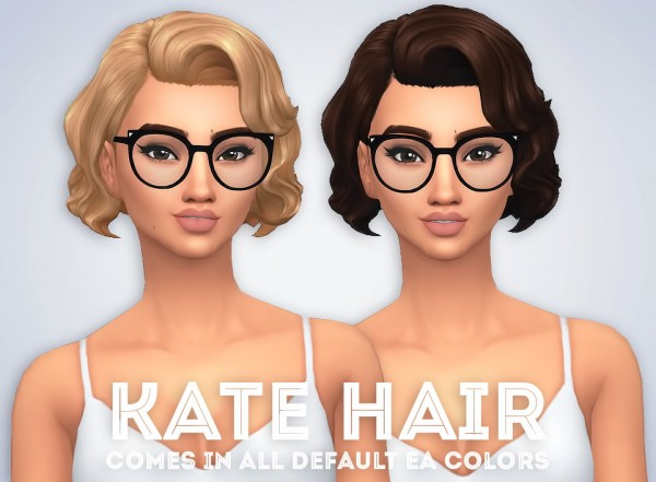 Ivo Sims: Kate hair for Sims 4