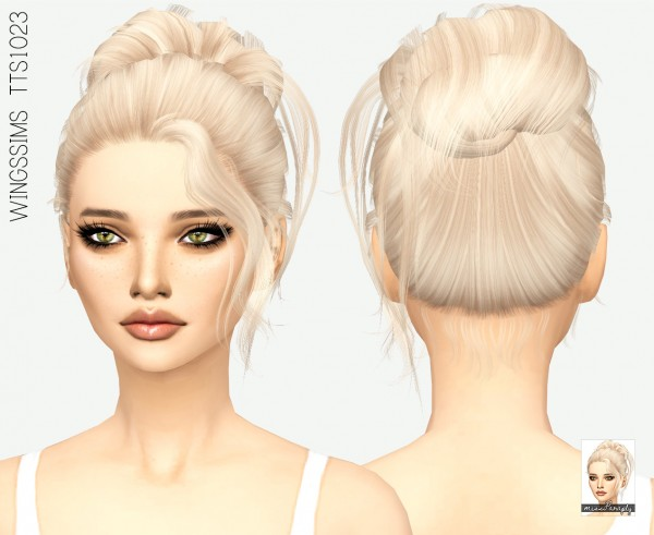 Miss Paraply: Wingssims TTS1023 for Sims 4
