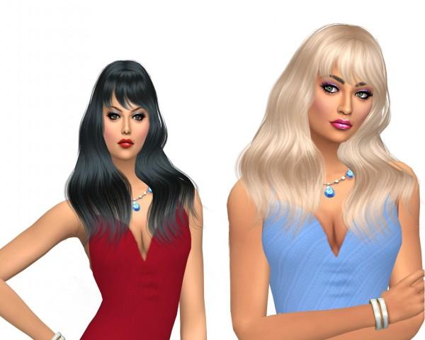 Sims Fun Stuff: Wings 1225 alpha edit for Sims 4
