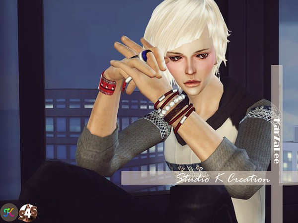 Studio K Creation: NAKAJIMA   Animate hair 72 for Sims 4