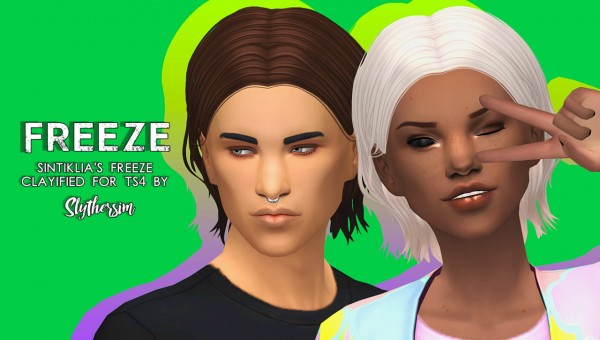 Slythersim: Sintiklia's Freeze Clayified for Sims 4