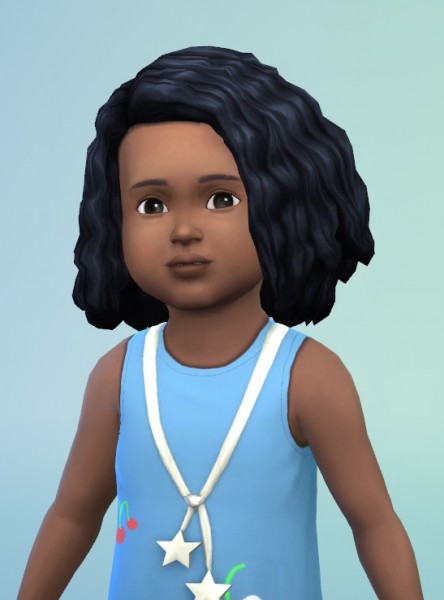 Birksches sims blog: Toddlers ShortCurls edit & Mega Curls edit for Sims 4