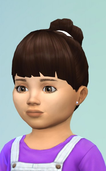 Birksches sims blog: Toddlers HairNest for Sims 4