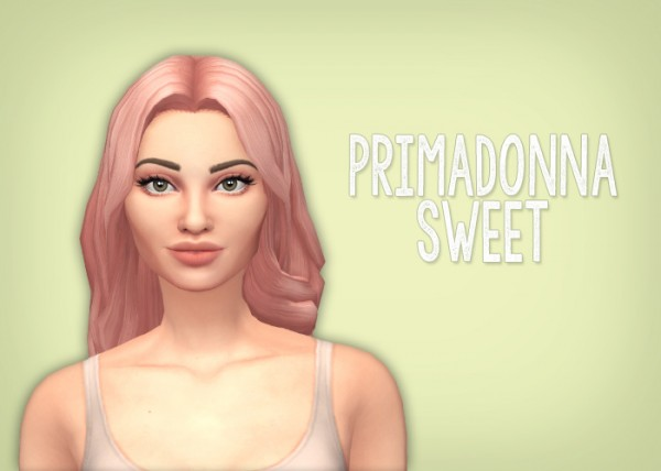 Simsrocuted: Yui, Roxy, Wavy Wolf and The Sweet Hair for Sims 4