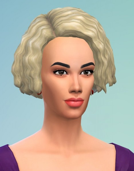 Birksches sims blog: Curls with more Forehead for Sims 4