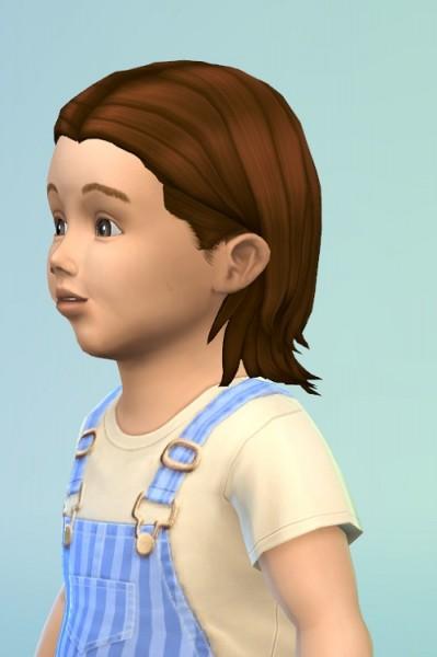 Birksches sims blog: MedCenter Hair for Toddler for Sims 4