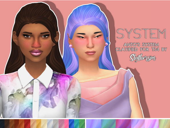 Slythersim: Anto's System Clayified for Sims 4