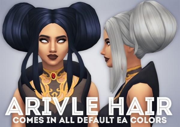 Ivo Sims: Arivle Hair for Sims 4