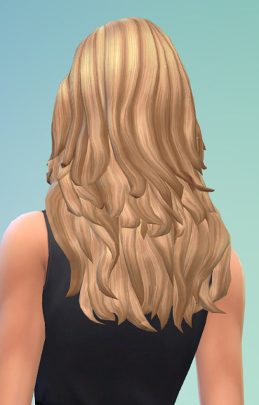 Birksches sims blog: Louisa Hair for Sims 4