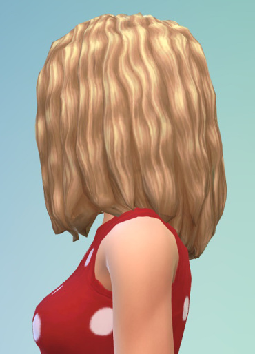 Birksches sims blog: Twisted Curls longer hair for Sims 4