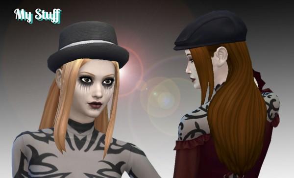 Mystufforigin: Weekend Hairstyle for Sims 4