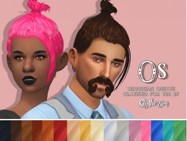 Slythersim: Wingssims Os0116 Clayified for Sims 4