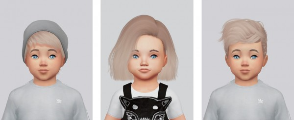 Sims 4 Hairs Kalewa A Toddler S Hair Pack