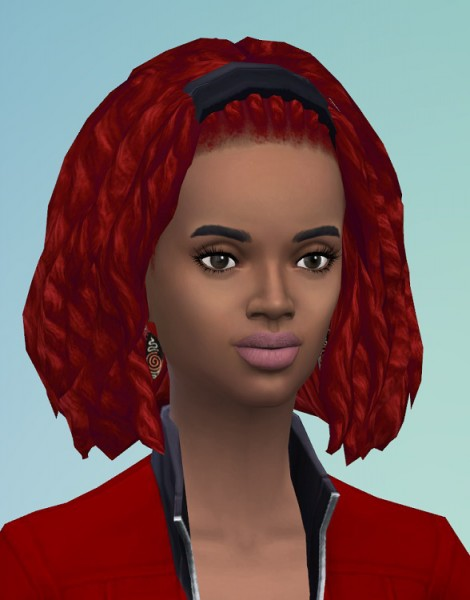 Birksches sims blog: Strings Dreads for Both for Sims 4