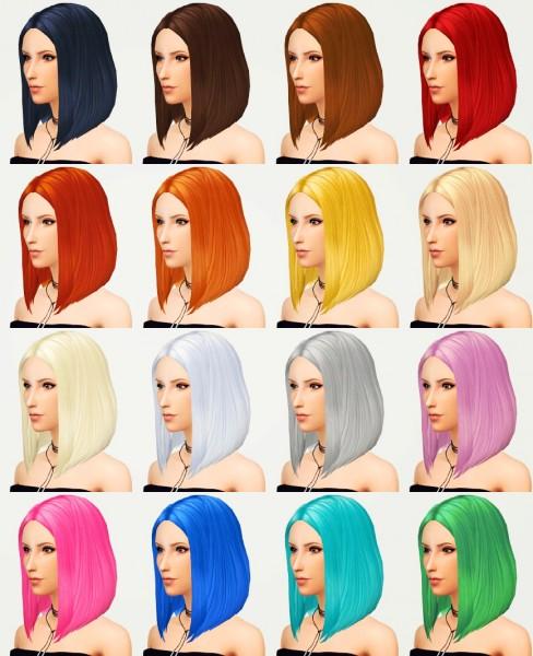 Kot Cat: Yui hair for Sims 4